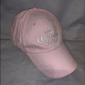 Pink Corona Light Baseball Hat